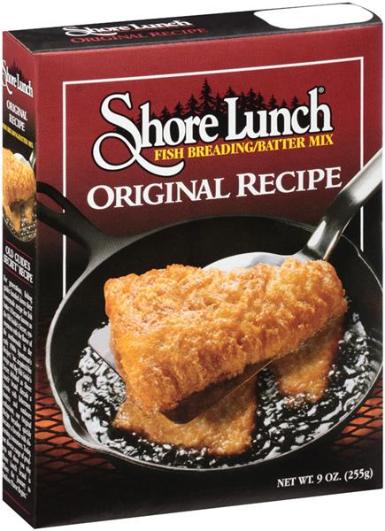 shore lunch original recipe fish breading batter mix hy