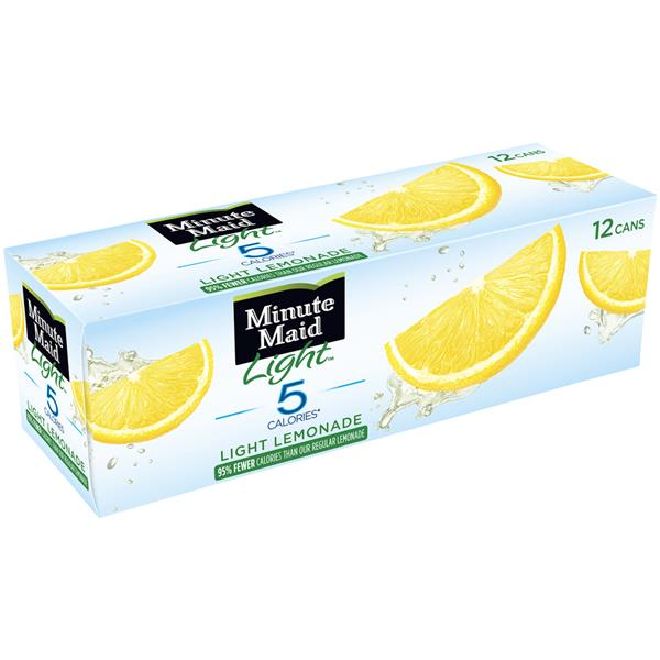 Minute Maid Light Lemonade 12 Pack