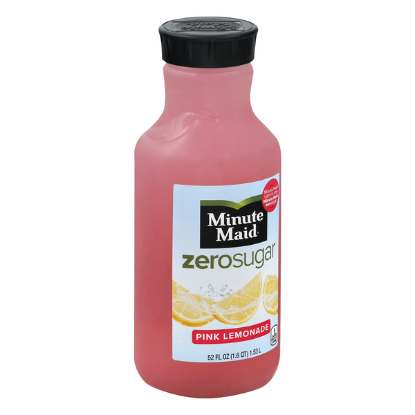Minute Maid Zero Sugar Pink Lemonade