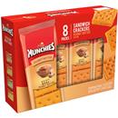 Munchies Ready To Go Snacks Peanut Butter Cheddar Sandwich Crackers 8Pk