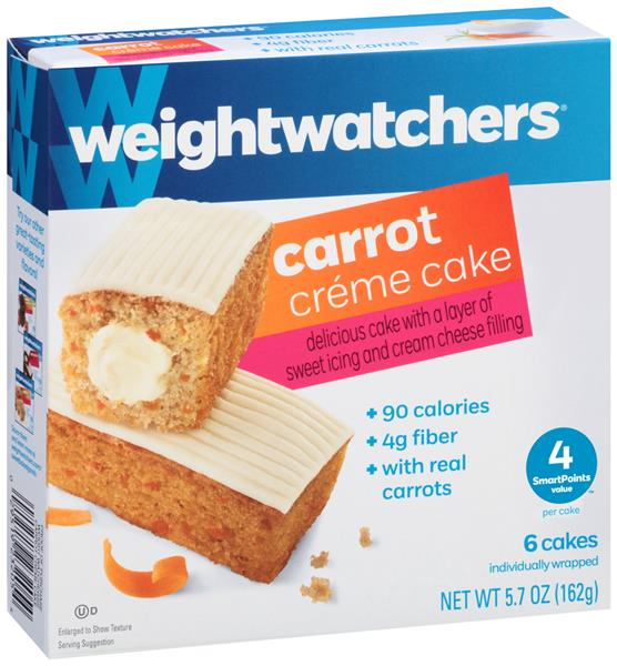 Weight Watchers Carrot Creme Cake