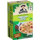 Quaker Oatmeal Dinosaur Eggs Brown Sugar Instant Oatmeal 8 Packets