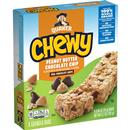 Quaker Chewy Peanut Butter Chocolate Chip Granola Bars 8-0.84 oz Bars
