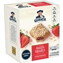 Quaker Breakfast Squares Strawberry Soft Baked Bars, 5-2.11 oz Bars