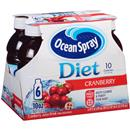Ocean Spray Diet 10 Cranberry Juice Drink 6 Pk