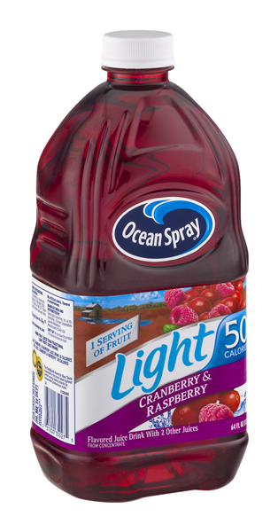 Ocean Spray Light Cranberry & Raspberry Juice Drink