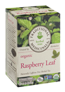 Traditional Medicinals Herbal Teas  Organic Raspberry Leaf 16 Count