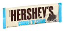 Hershey's Cookies 'n' Creme Candy Bar
