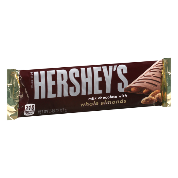 Hershey's Milk Chocolate with Almonds Candy Bar