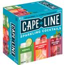 Cape Line Hard Strawberry Lemonade, Margarita & Blackberry Mojito Sparkling Cocktails Variety Pack 6Pk
