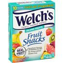 Welch's Island Fruits Fruit Snacks 10-0.9 oz Pouches