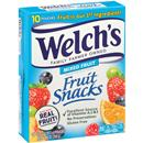 Welchs Mixed Fruit Snacks 10-0.9 oz Pouches