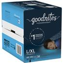 GoodNites Boy's Bedtime Underwear Boy's L-XL 60-125lb Super Pack