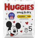 Huggies Snug & Dry Size 5 Diapers