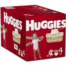 Huggies Little Snugglers Baby Diapers, Size 4