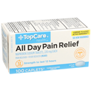 TopCare All Day Pain Relief 220mg Caplets