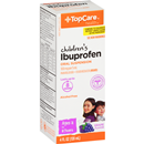 TopCare Children's Ibuprofen Grape Flavor Bonus