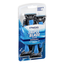 TopCare Triple Blade Men's Razors with Lubricating Strip