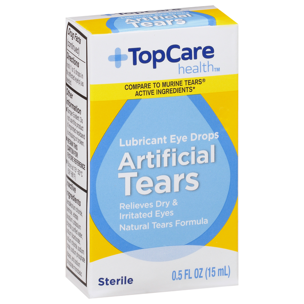 TopCare Artificial Tears Lubricant Eye Drops