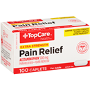Topcare Extra Strength Pain Relief Acetaminophen 500Mg Caplets