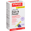 TopCare Infant's Pain & Fever Grape Flavor Oral Suspension