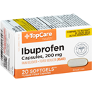 TopCare Health Ibuprofen 200mg Softgels