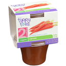 Tippy Toes 2 Carrots 2-4 oz Packs