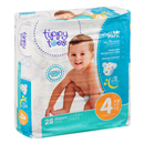 Tippy Toes Jumbo Pack Diapers, 4 22-37 Lb