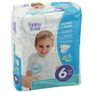 Tippy Toes Jumbo Pack Diapers, 6 35+ Lb