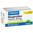 TopCare Ibuprofen 200 Mg Pain Reliever/Fever Reducer (Nsaid) Softgels Minis