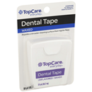 TopCare Waxed Unflavored Dental Tape