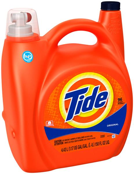 Tide 150oz 96 Load HE Laundry Detergent