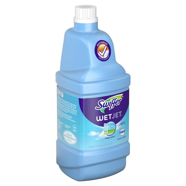 Swiffer Wetjet Multi Purpose Cleaner Solution Refill Open