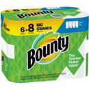 Bounty Select-A-Size Paper Towels, White, Big Rolls