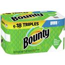 Bounty Select-A-Size Paper Towels, White, 6 Triple Rolls = 18 Regular Rolls