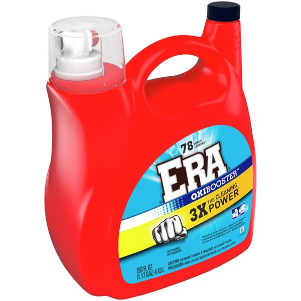Era 2x Ultra With Oxi Booster Liquid Laundry Detergent
