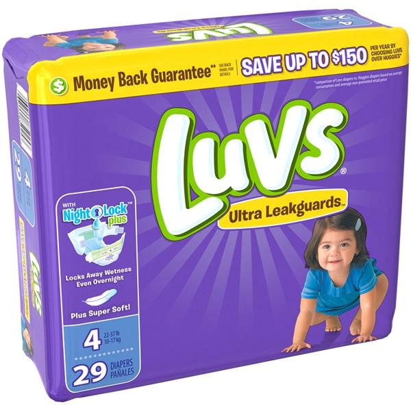 Luvs with Ultra Leakguards Size 4 Diapers | Hy-Vee Aisles Online ...