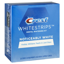 Crest 3D WhiteStrips Noticeably White Kit 10 Treatments