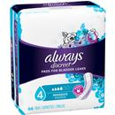 Always Discreet Moderate Absorbency Regular Length Bladder Protection Pads