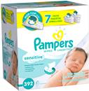 Pampers Sensitive Baby Wipes 7Pk