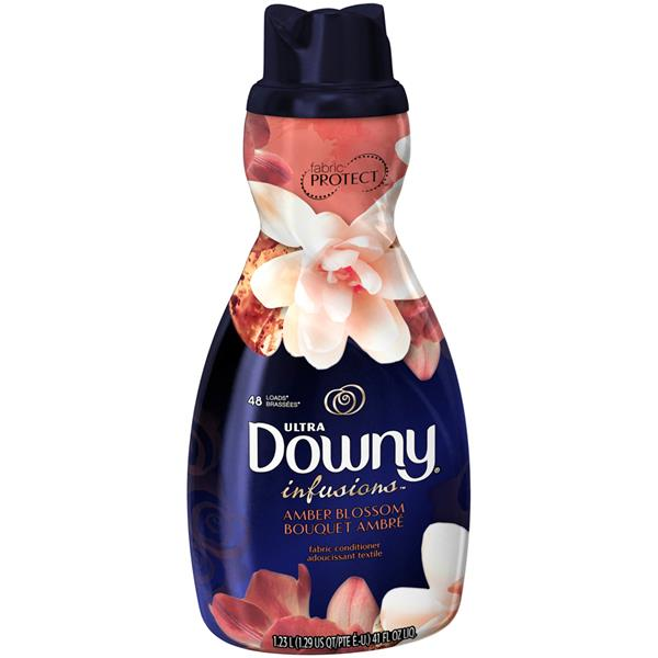 Ultra Downy Infusions Amber Blossom Liquid Fabric