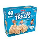 Kellogg's Original Rice Krispies Treats Crispy Marshmallow Squares 40-0.78 oz Bars