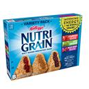 Kellogg's Nutri Grain Soft Baked Strawberry/Apple Cinnamon/Mixed Berry Breakfast Bars Variety Pack 8-1.3 oz Bars