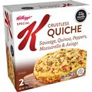 Kellogg's Special K Crustless Quiche Sausage, Quinoa, Peppers, Mozzarella & Asiago 2Ct