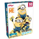 Kellogg's Despicable Me Minion Made Assorted Fruit Flavored Snacks 10Ct