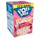 Kellogg's Pop-Tarts Frosted Strawberry Milkshake Toaster Pastries 8Ct