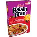 Kellogg's Raisin Bran with Cranberries Breakfast Cereal