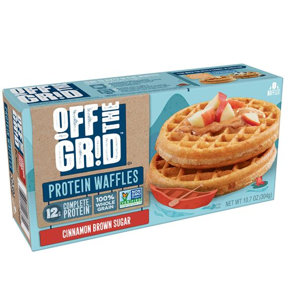 Kellogg's Off The Grid Waffles Brown Sugar Cinnamon