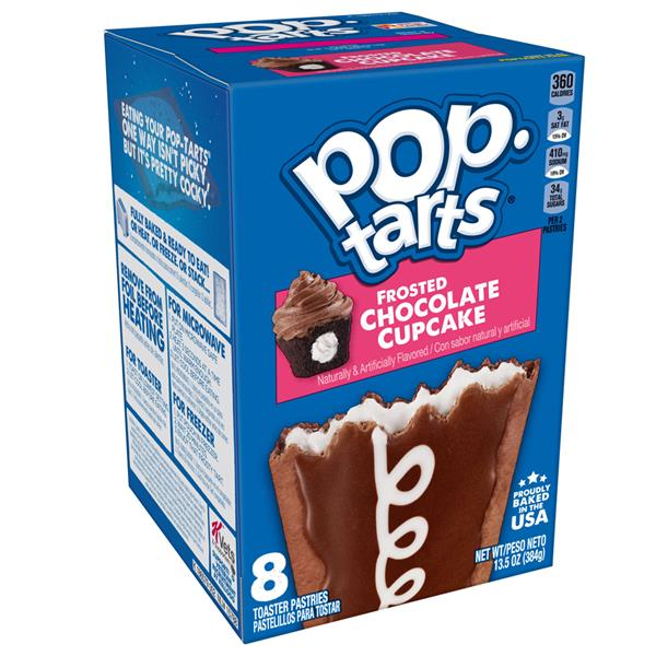 Kellogg's Pop-Tarts Frosted Chocolate Cupcake 8Ct