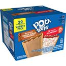 Kellogg's Pop-Tarts Variety Pack Frosted Brown Sugar Cinnamon & Frosted Strawberry 32Ct